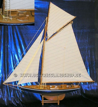 Segelschiff als Modell in Holz 70x98 cm